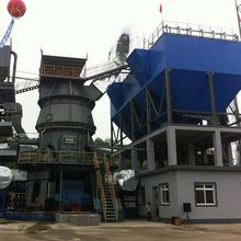 New type energy saving vertical roller mill for cement grinding