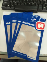 Samsung galaxy accessories aluminum foil bag/accessories zip lock bags