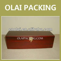 High Class Fashion Wooden Wine Bottle Carrier For Gift Wine Packaging,Wine Gift Box