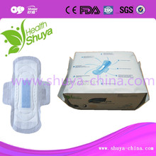 OEM Active oxygen and Anion sanitary towel manufacturer