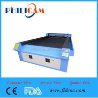 Hot sale/high conguration/manufacturer 10% discount Philicam CO2 laser machine for acrylic/glass/cloth/fabric/wood/leather