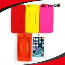Sunwell- Brand New Soft Flexible Silicon/Silicone Skin Cover Case with Armband for iphone