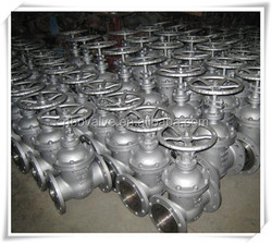 API Gear Operated/Handwheel Rising Stem Cast Steel Gate Valve
