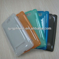 Phone Protector/mobile phone TPU case for HTC 8S with matte finish