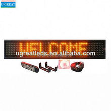 Haute qualité télécommande imprimable coloration panneaux de signalisation