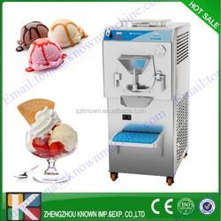 5+4Itr/hr capacity gelato batch freezers for sale/ice cream batch freezer