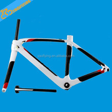 customise painting carbon road bike frame,discount carbon bike frame white carbon frame on sale