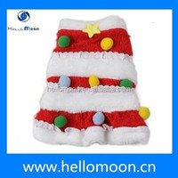 2015 Wholesale Winter Popular Christmas Dog Costumes