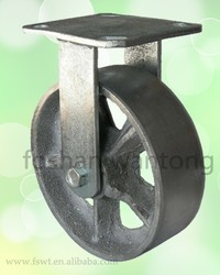 High Temperature Cast Iron Wheel 125mm Trolley Caster Wheel