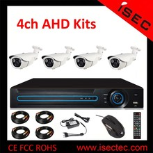 2015 New Arrival Hot Sell 4channel CCTV AHD Camera Kit, 8ch AHD Camera Set, HD Home Security Camera System