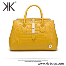 Newest pictures ladies fashion handbag branded genuine leather purse and handbag