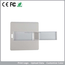 China wholesale mini square gift card type usb flash drive
