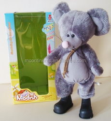 B/O Dancing Mouse Plush toys