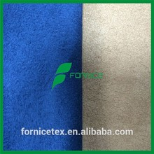 China manufacturer 100 polyester woven suede fabric samples
