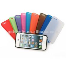 Hot Sale!!! High Quality Matte Silicon Cases for Iphone 5