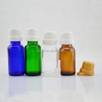 bouteille en verre verte de l'huile 100ml essentielle, bouteille en verre de 5ml 10ml 15ml 20ml 30ml 50ml, bouteille en verre v