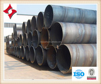 anticorrosion big diameter spiral steel pipe for water transfer