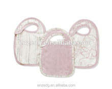 2015 new style bamboo fiber baby bibs cotton material