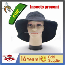 New design sun visor keep insects away cap fish outdoor