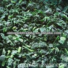 New Crop frozen chopped spinach,frozen spinach food