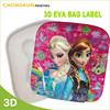 Lovely cheap sticker eva material for school bag