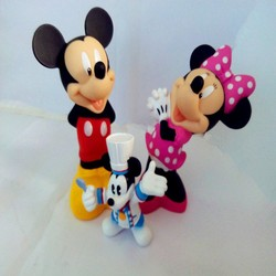 plastic kids mouse toy