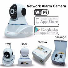 Burglar Wireless Home Alarm Security monitoring IP camera Alarm