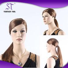 Quality guaranteed japanese kanekalon hard cap mannequin wigs