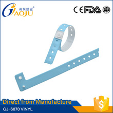 ISO CE FDA Certificate most popular reflective pvc wristband promotional