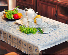 100% vinyl PVC table cloth with pp non-woven backing,multipurpose household tablecloth/washable vinyl PEVA indoor table cloths