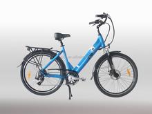 Electric bike factory 26inch city type women JB-TDF15Z