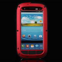 Latest mobile phone accessories aluminum Gorilla phone case for s3 iii i9300
