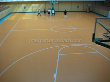 durable PVC basketball flooring