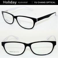 2015 fashional black rimmed full frame wholesale eyeglass spectacle frames