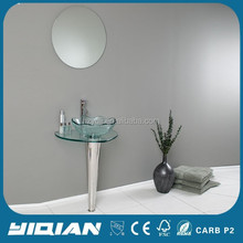 Tempered Glass Basin Bathroom Vanity Glass Counter Top Wash Basin