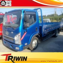 china exported EURO 4 emission standard CA1074PK26L2E4 diesel engine 120hp 4x2 small light truck 3.5 ton