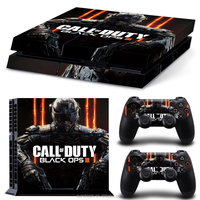 Free Shipping PVC Decals For PS4 Black Ops 3 Skins For Sony Playstation 4 Sticker