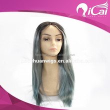 indian remy gray hair full lace wig with baby hair,100% human hair wig