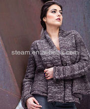 100 acrylic cardigan sweater models for lady