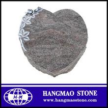 Small Size Pink Juparana Granite Pet Headstone