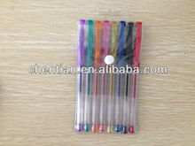 Factory direct-selling 100''high quality Multi-color ballpoint flash ink pen