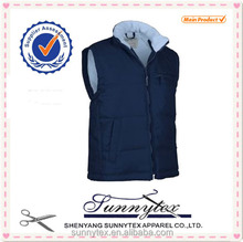 Sunnytex Cheap Wholesale Winter Vest With High Collar