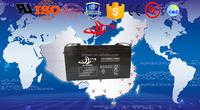 JL factory Free Maintenance Type and 12v Voltage 12v 150ah deep cycle battery for Sailboats , marine systems