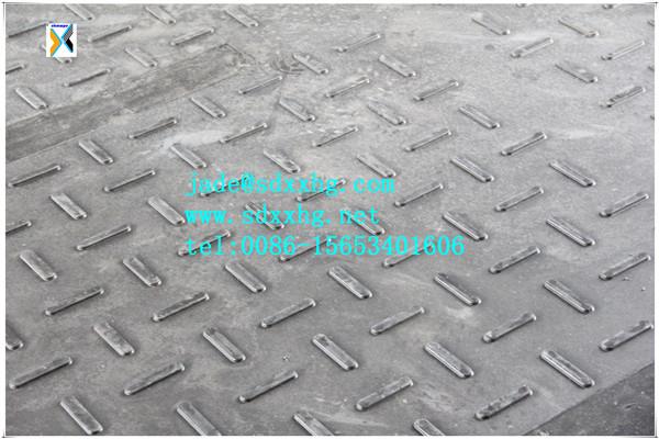 Non Slip Mat Pour Les Gros V Hicules Temporaire Sol En Plastique Protection Tapis Camion