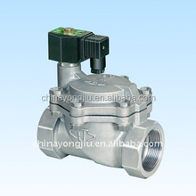 Pilot operated steam valve