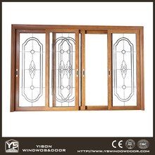 Aluminum Sliding Doors with Fly Screen