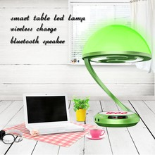 wifi control APP bluetooth speaker wireless mobile rechargeable led table light smart table led light led reading table lamps