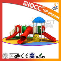 Outdoor cheap plastic playhouses outdoor playsets for kids by Manufacture