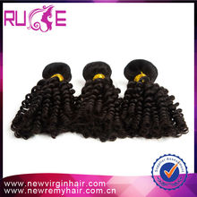 Excellent suppliers alibaba unprocessed hair dye chocolate hair weave highlighted hair weave