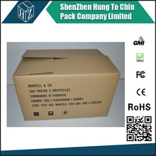 Popular cheap corrugated clamshell cardboard paper box